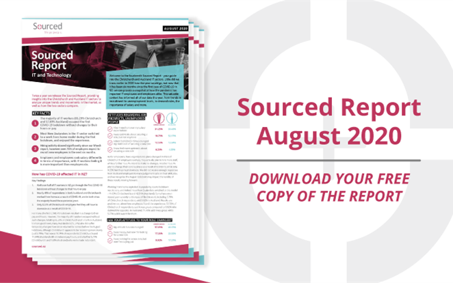 Sourced Report | IT & Technology | August 2020