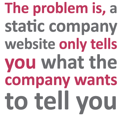 Problem with a static company website | Sourced - Christchurch IT Recruitment