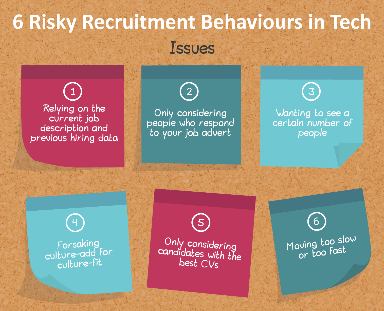 6 Ways to Mitigate Recruitment Risks for Tech Companies