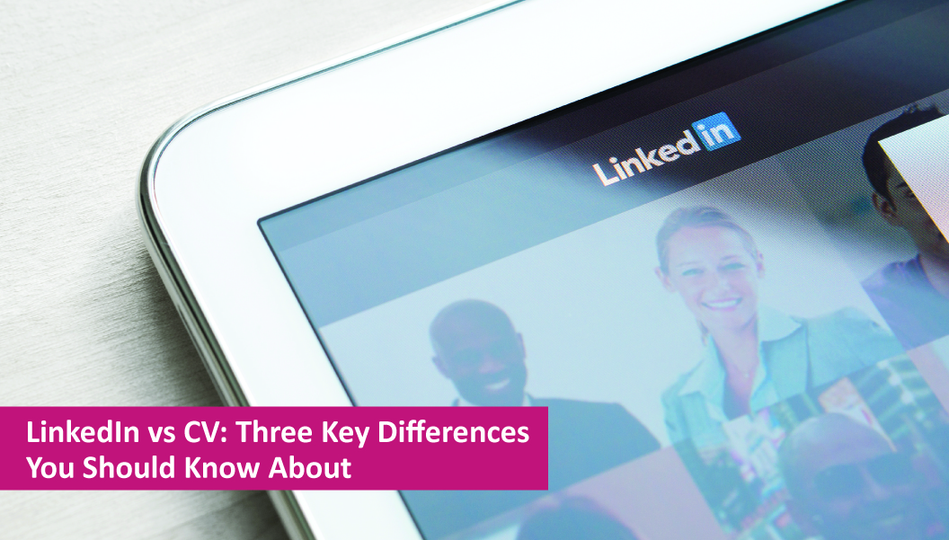 Differences between LinkedIn and Your CV