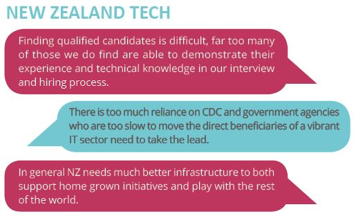 Sourced Report comments New Zealand Technology | Sourced Report - Christchurch IT Market - September 2017
