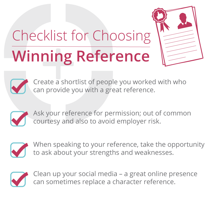 Checklist for choosing a winning reference | Sourced IT Recruitment