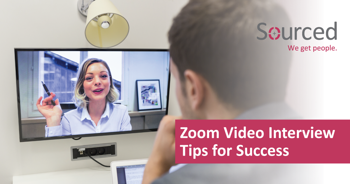 Zoom Video Interview Tips for Success