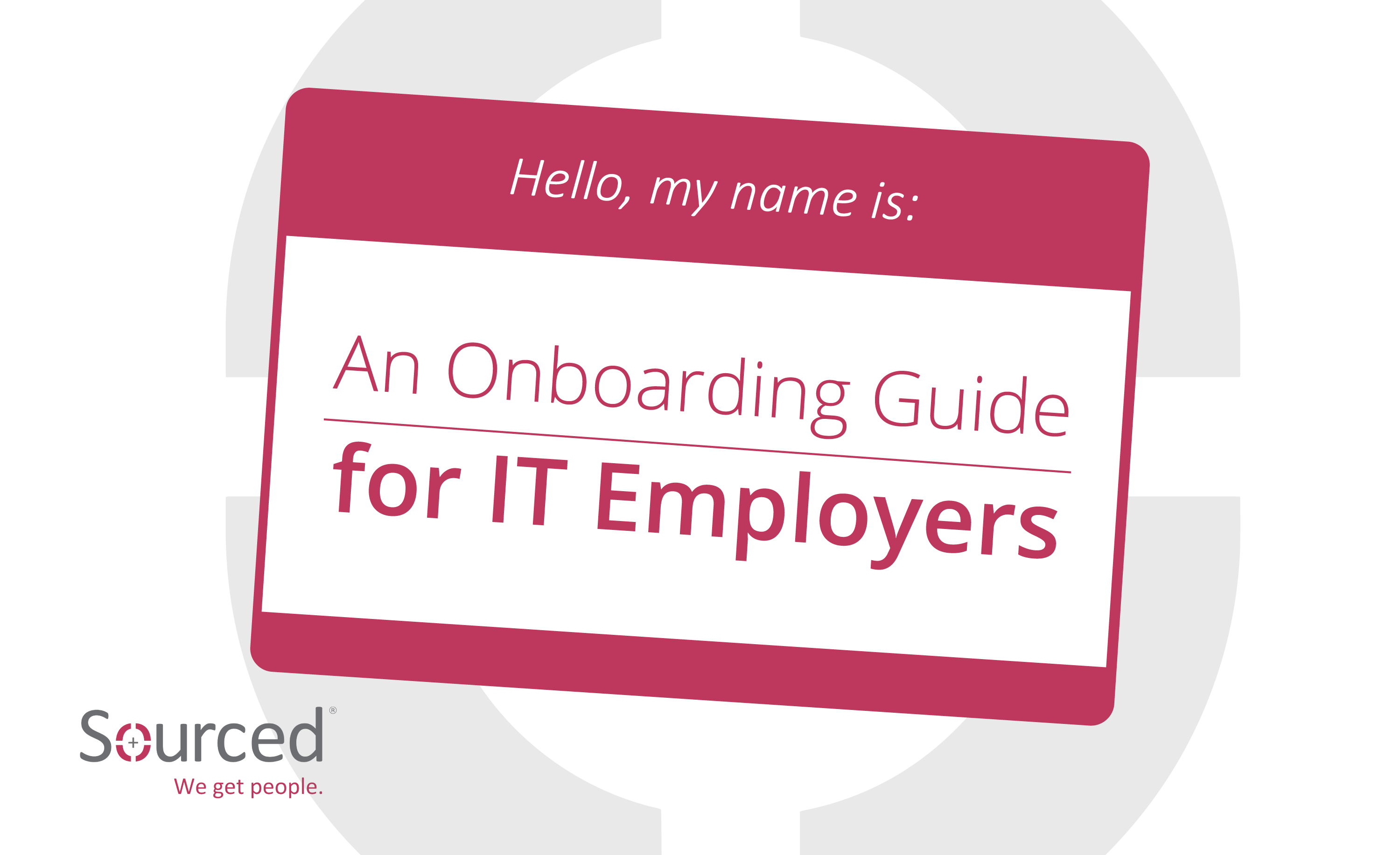 Onboarding Guide| Sourced: Christchurch IT Recruitment