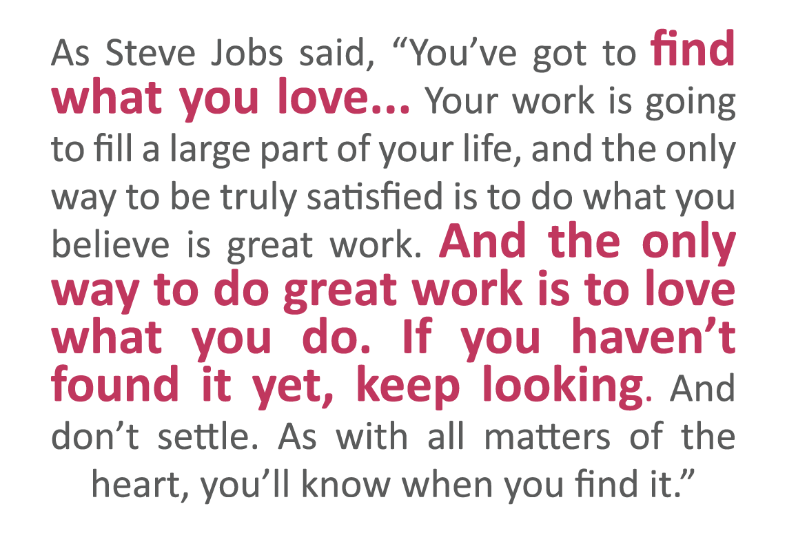 Two Simple Tips To Finding A Job You Love - Sourced