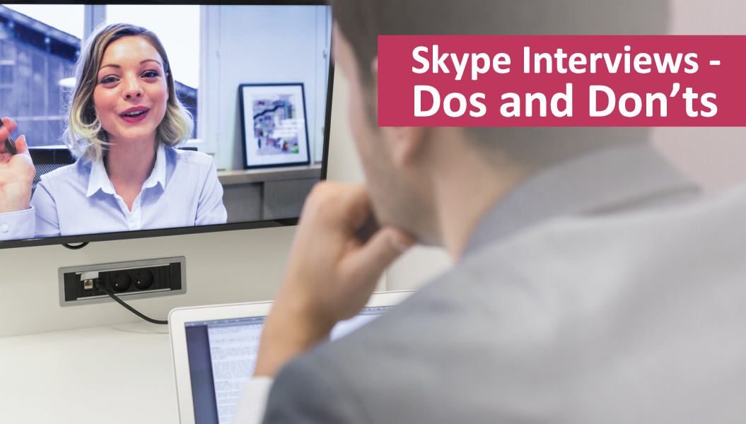 Skype Interviews - Do's and Don'ts | Sourced - Christchurch IT Recruitment