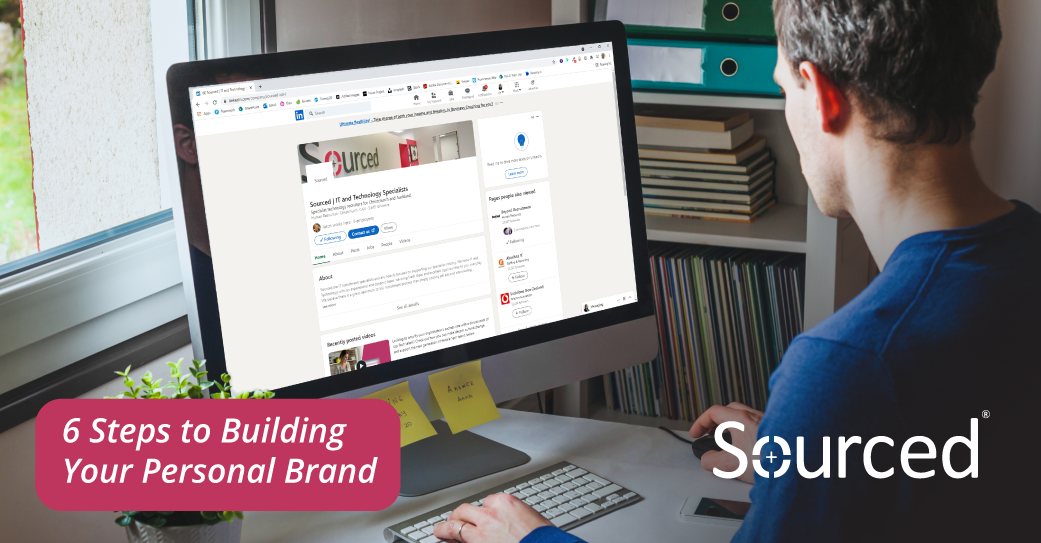 6 Steps to Building Your Personal Brand